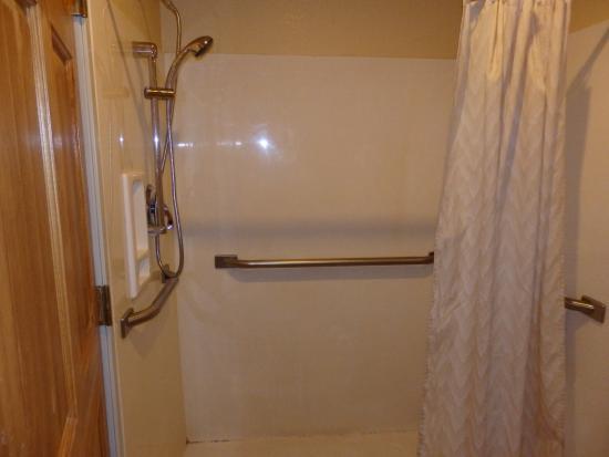 Americas Best Value Inn & Suites Colorado Springs : Mold in shower Room 104