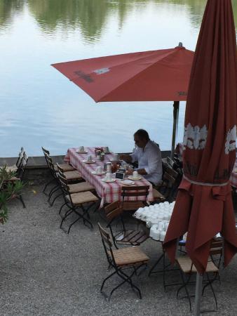 Hotel Langwieder See: Colazione bordo lago spettacolare!!