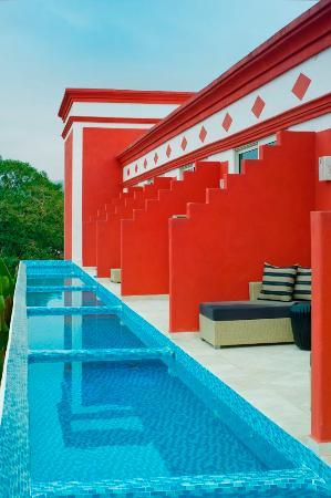 Hacienda San Pancho: LAS MINI ALBERCAS DEL HOTEL