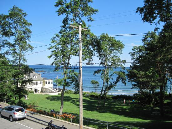 York Harbor, ME: View from Room 3 porch