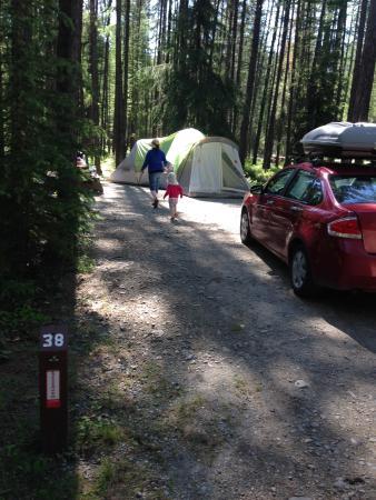 Moyie, Canada: Campsite 38