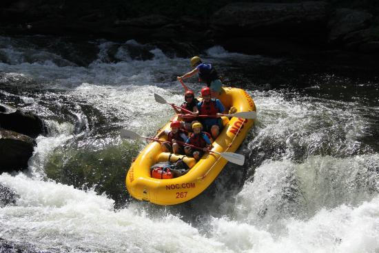Nantahala Outdoor Center Whitewater Rafting