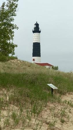 Big Sable Point Lighthouse: Getting closer to the Lighthouse