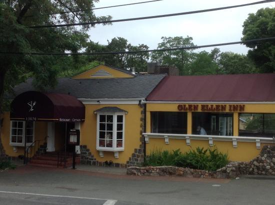 Glen Ellen Inn: Restaurant yummy!