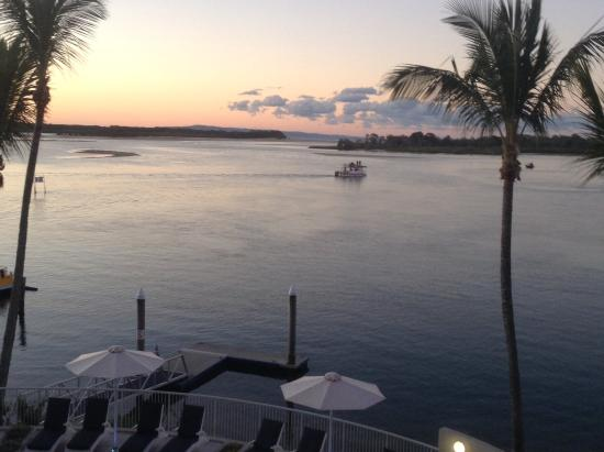 Noosa Pacific Riverfront Resort: Wonderfull view