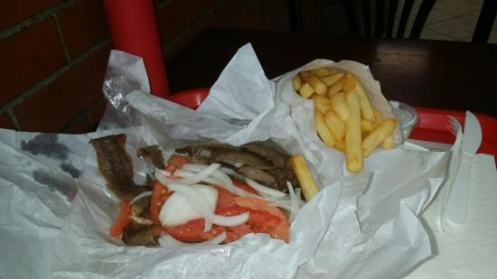Photo of Fast Food Restaurant Mr. Greek Gyros at 234 S Halsted St, Chicago, IL 60661, United States