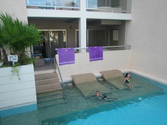 Swim Up Area Picture Of Paradisus Playa Del Carmen La Esmeralda Playa Del Carmen Tripadvisor