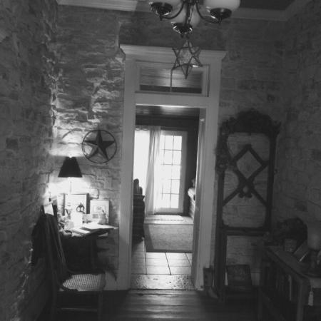 Hico, Teksas: Old Rock House Bed and Breakfast