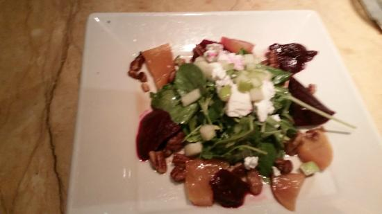 The Cheesecake Factory: Beets with Goat Cheese