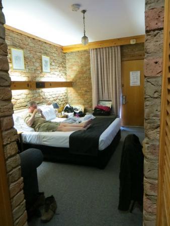 Comfort Inn Settlement - into room from bathroom