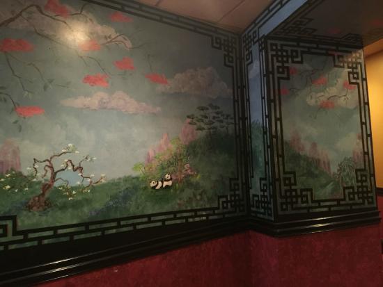 empire garden restaurant murals - Empire Garden