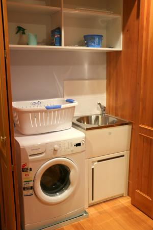Quayside Cottages: Full laundry in Bayview Cottage - very handy!