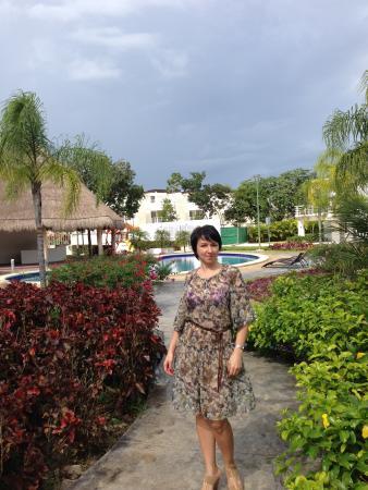 Occidental Costa Cancun : На территории отеля.