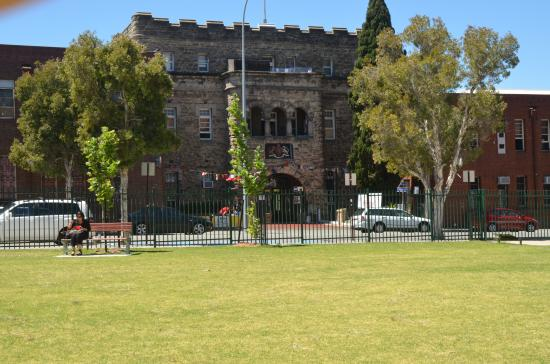 The Old Swan Barracks: Front view 1