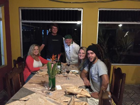 Fusion Grill & Restaurant: Another great dinner with Chef Benedict at the Fusion Restaurant. The ceviche was to die for and