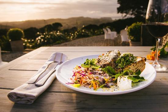 Isla Waiheke, Nueva Zelanda: Seasonal lunch plates -