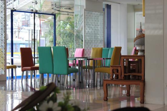 Metro Resort Pratunam: Sitting Place