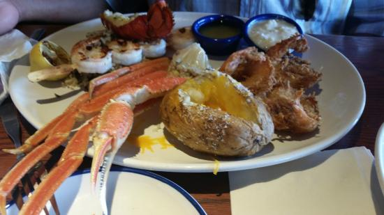 Red Lobster : Crabs