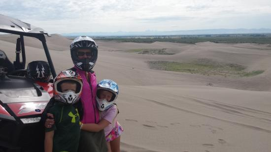 Saint Anthony, ID: All your time is spent on the dunes - not getting the equipment repaired.