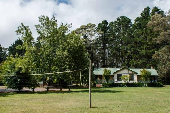 Federation Gardens & Possums Hideaway: Volleyball Net