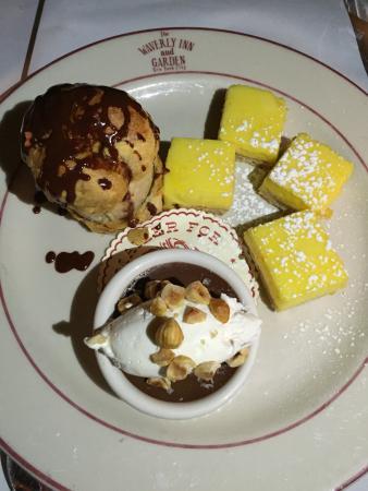 The Waverly Inn and Garden : Dessert- Profiterol