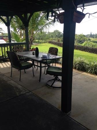 Island Goode's: Lovely private Lanai
