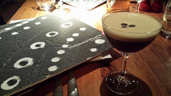 The Meat and Wine Co.: Espresso martini