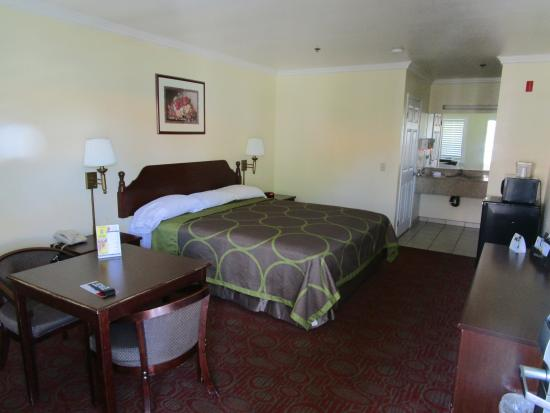 Super 8 North Hollywood: chambre