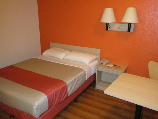 Motel 6 Arcata - Humboldt University : chambre vue 1
