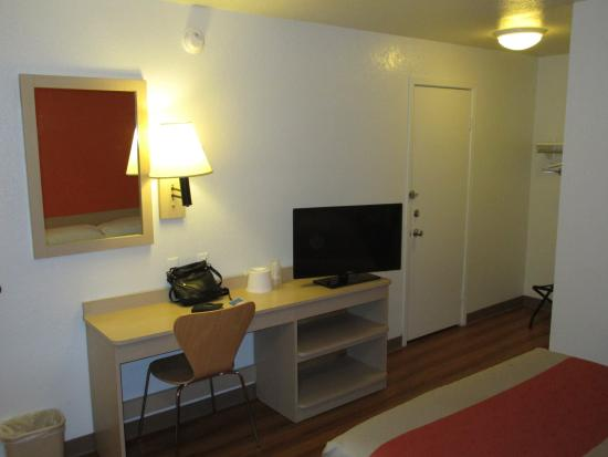 Motel 6 Arcata - Humboldt University : chambre vue 2