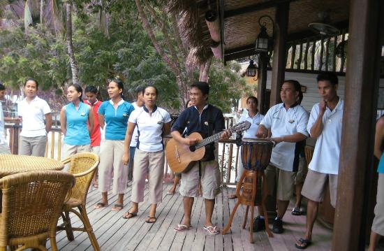 El Nido Resorts Miniloc Island : Awesome people taking well care of you!