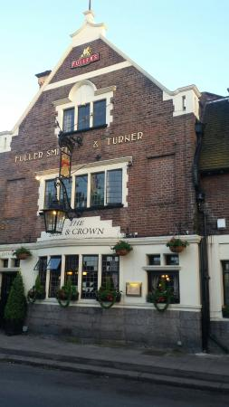The Bell and Crown: Nice meal