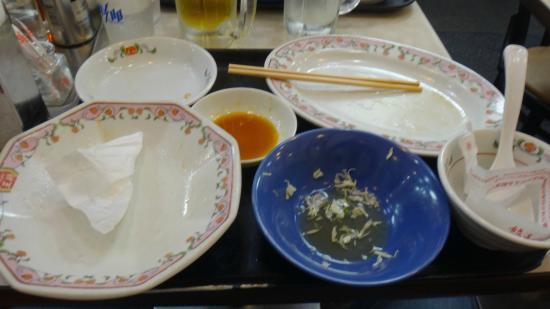 Gyoza no Ohsho, Shimbashi Ekimae: You can tell I really didn't like it