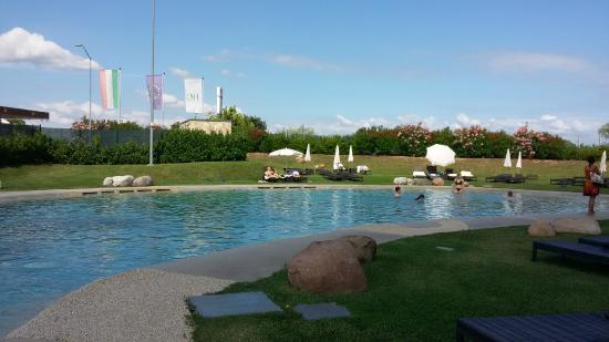 Swimming pool picture of hotel parchi del garda lazise - Hotels in verona with swimming pool ...