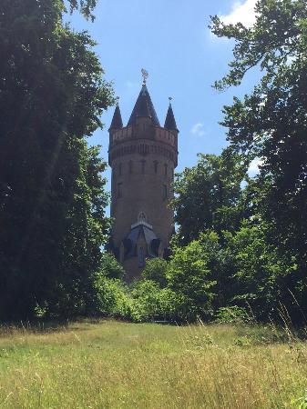 Potsdam per Pedales : Una torre sul percorso