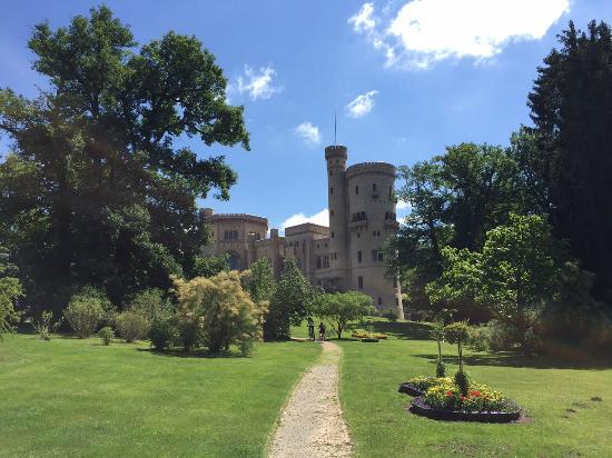 Potsdam per Pedales : Un castello sul percorso