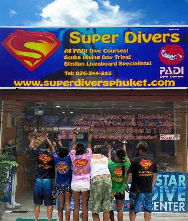 Scuba Diving - Super Divers Phuket