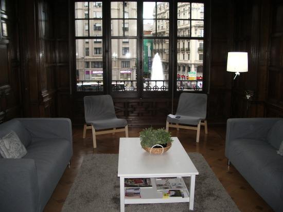 Hostel Como en Casa: Zona de estar.