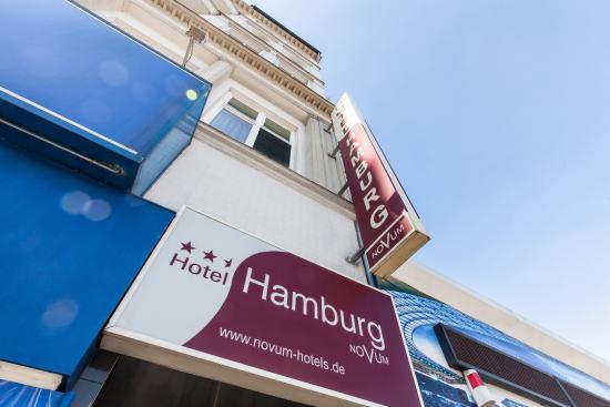Novum Hotel Hamburg Stadtzentrum: Außenansicht