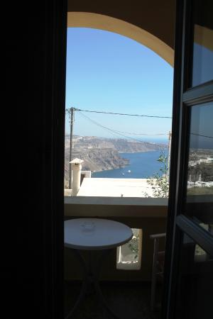 Merovigla Apartments: Il balconcino vista caldera