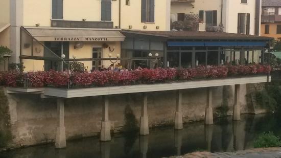 Vista dal ponte - Foto di Terrazza Manzotti, Canonica d\'Adda ...