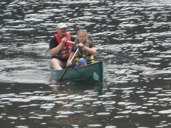 Grand Lake Visitor Center : плывем на лодке