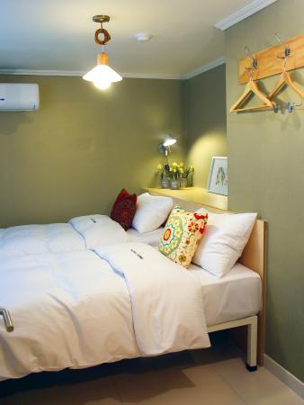 Hotel Tong Seoul: 트윈룸