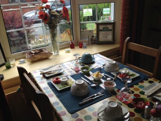 Caw Cottage B&B: The breakfast