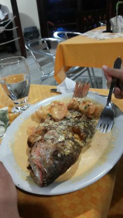 San Andres de Tumaco, Colombia: Ottimo pesce al risotante