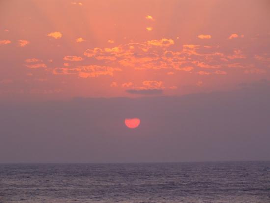Sunrise at Aliwal Shoal Scuba/Umkomaas Lodge