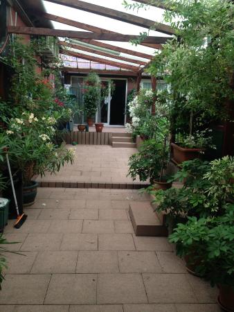 La Corderie : Un second aspect du jardin