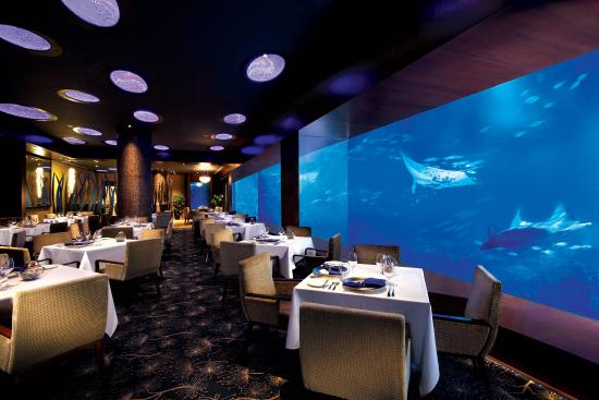 ocean restaurant by chef cat cora sentosa island restaurant reviews phone number photos tripadvisor - Underwater World Restaurant