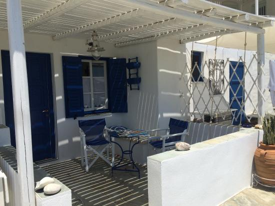 ‪‪Nikoletta Geronti Pension‬: Private terrace!‬
