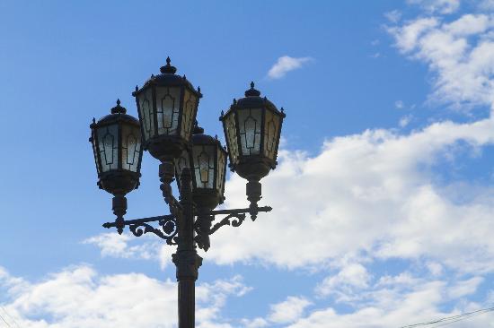Yekaterinburg, Russia: Street Lamps